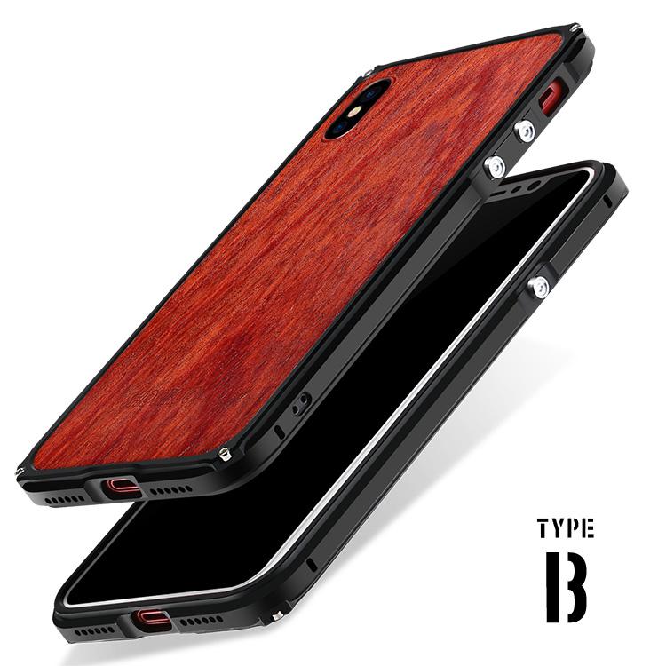 iPhone Xs アルミバンパー
