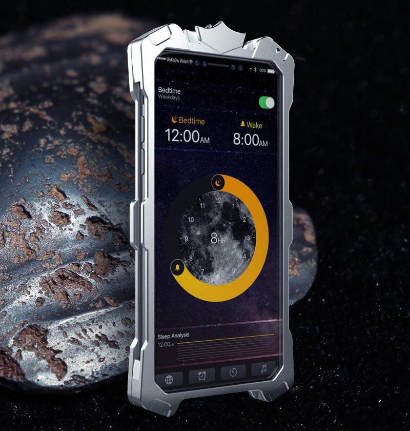 iphone X アルミ 耐衝撃ケース