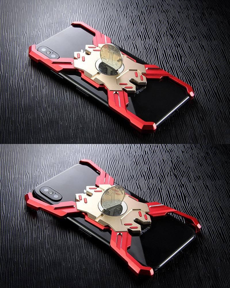 iPhone Xs メタルアーマー
