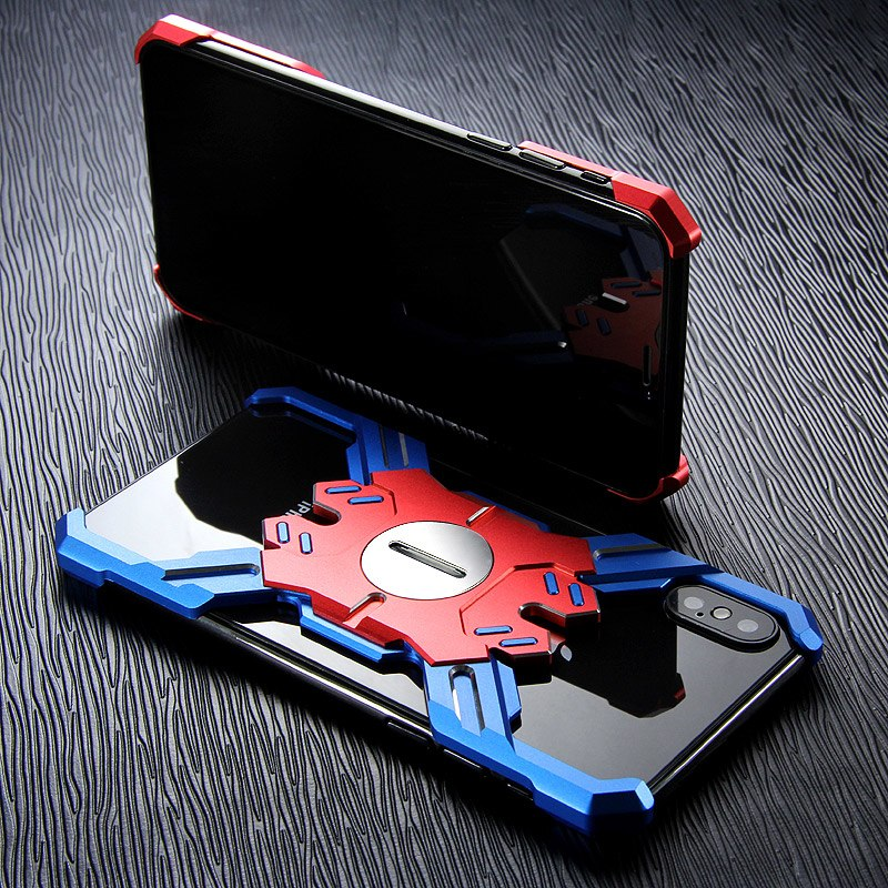 iPhone Xs アルミ レーシングケース