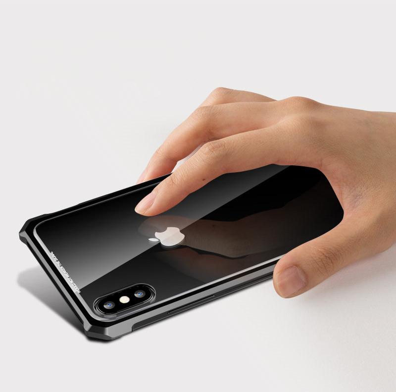 iPhone XS Max ガラスフィルム ケース