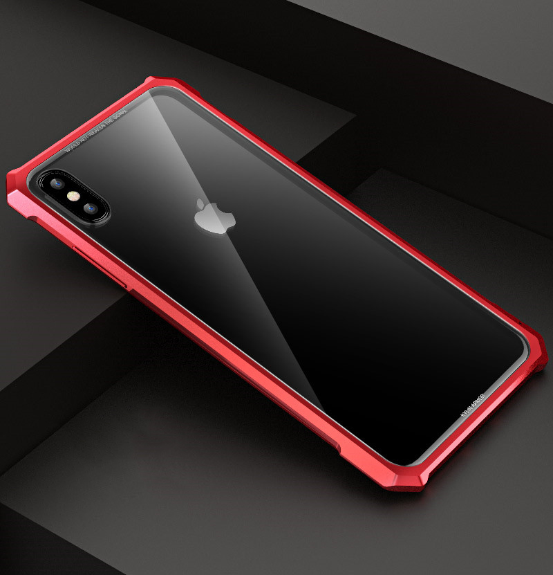 iPhone XR バンパー アルミ