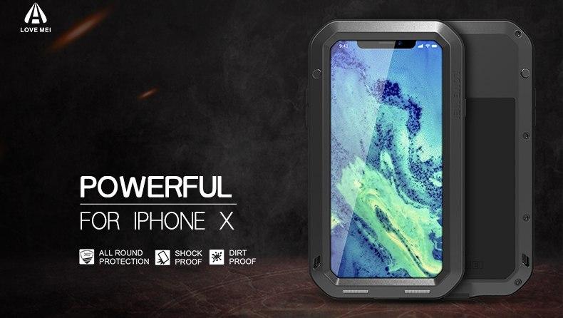 iPhone XS 耐衝撃ケース
