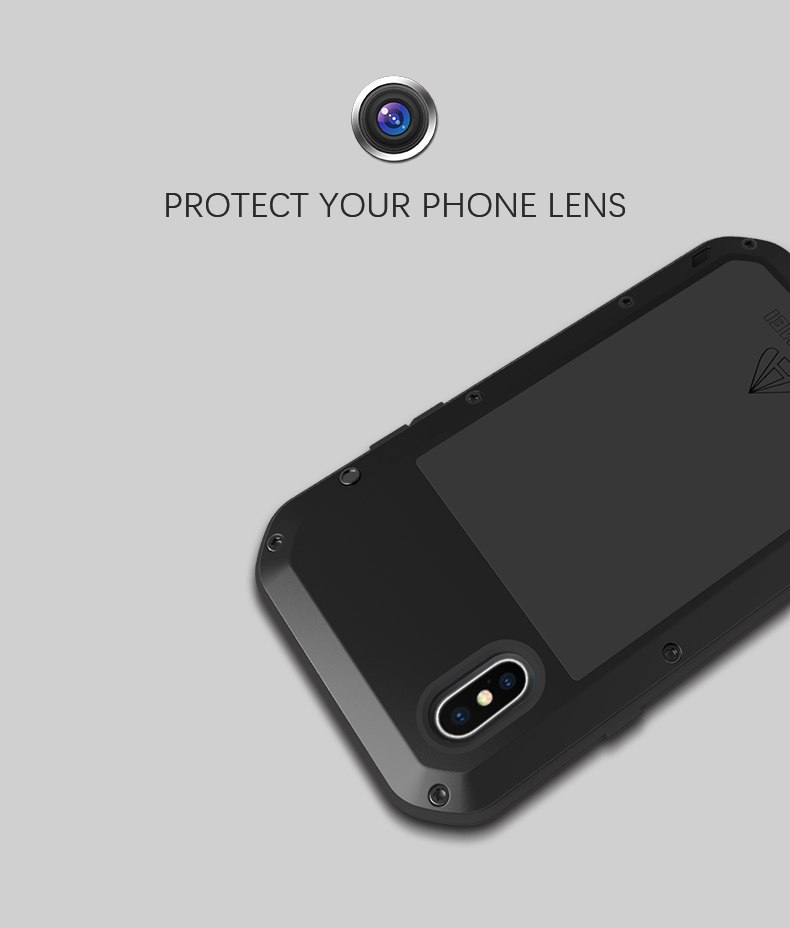 iPhone XS タフケース アーマーギア