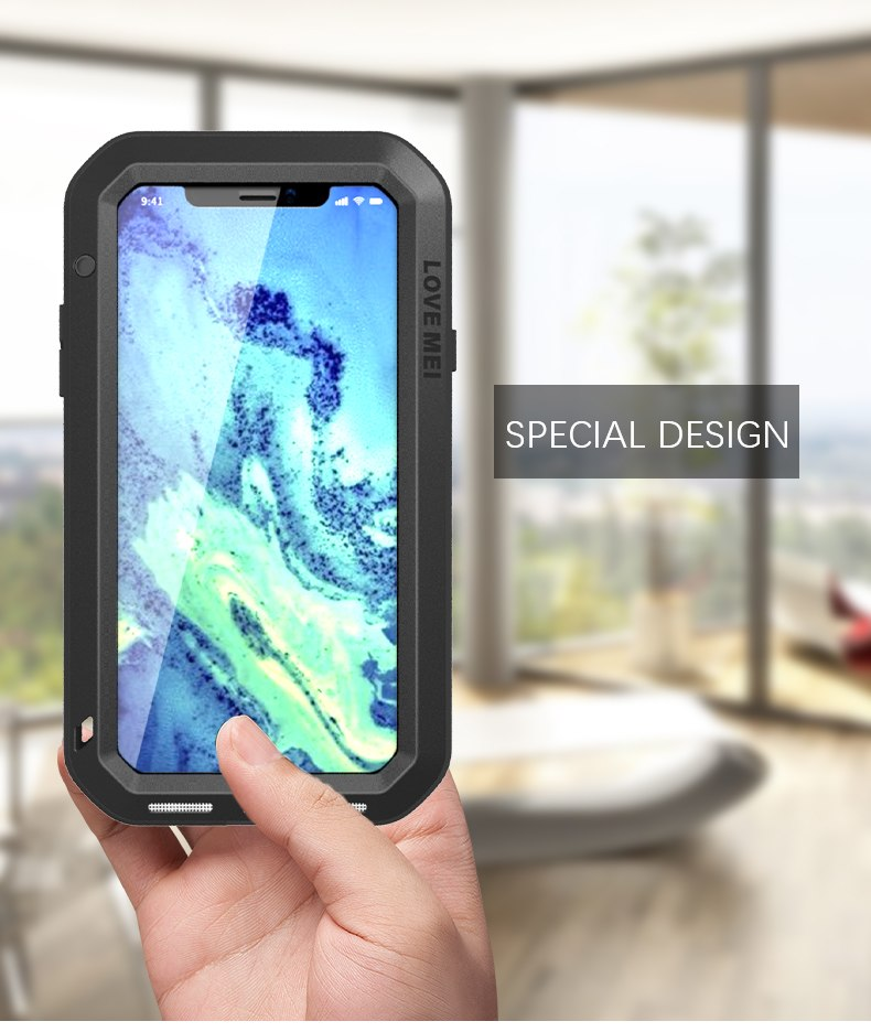 iPhone XS 強化ガラス フルカバー