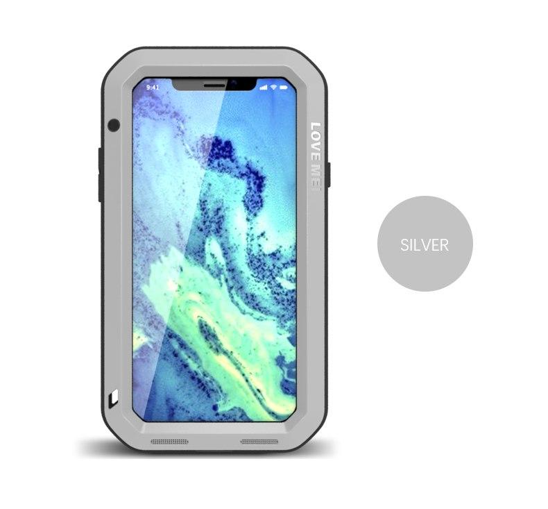 iPhone X 耐衝撃タフケース