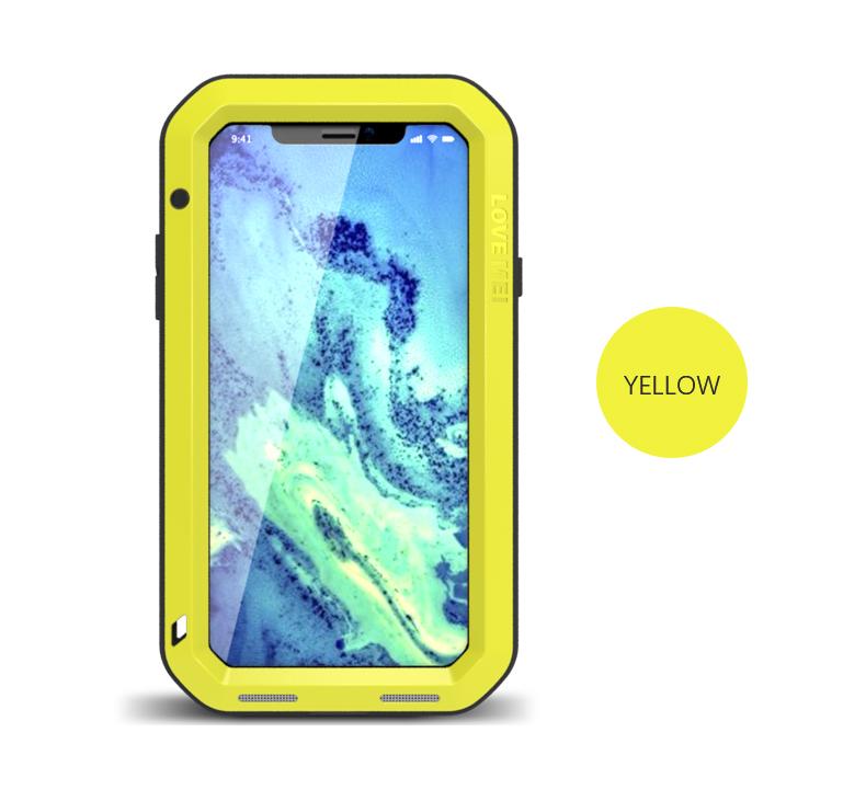 iPhone XS アルミケース