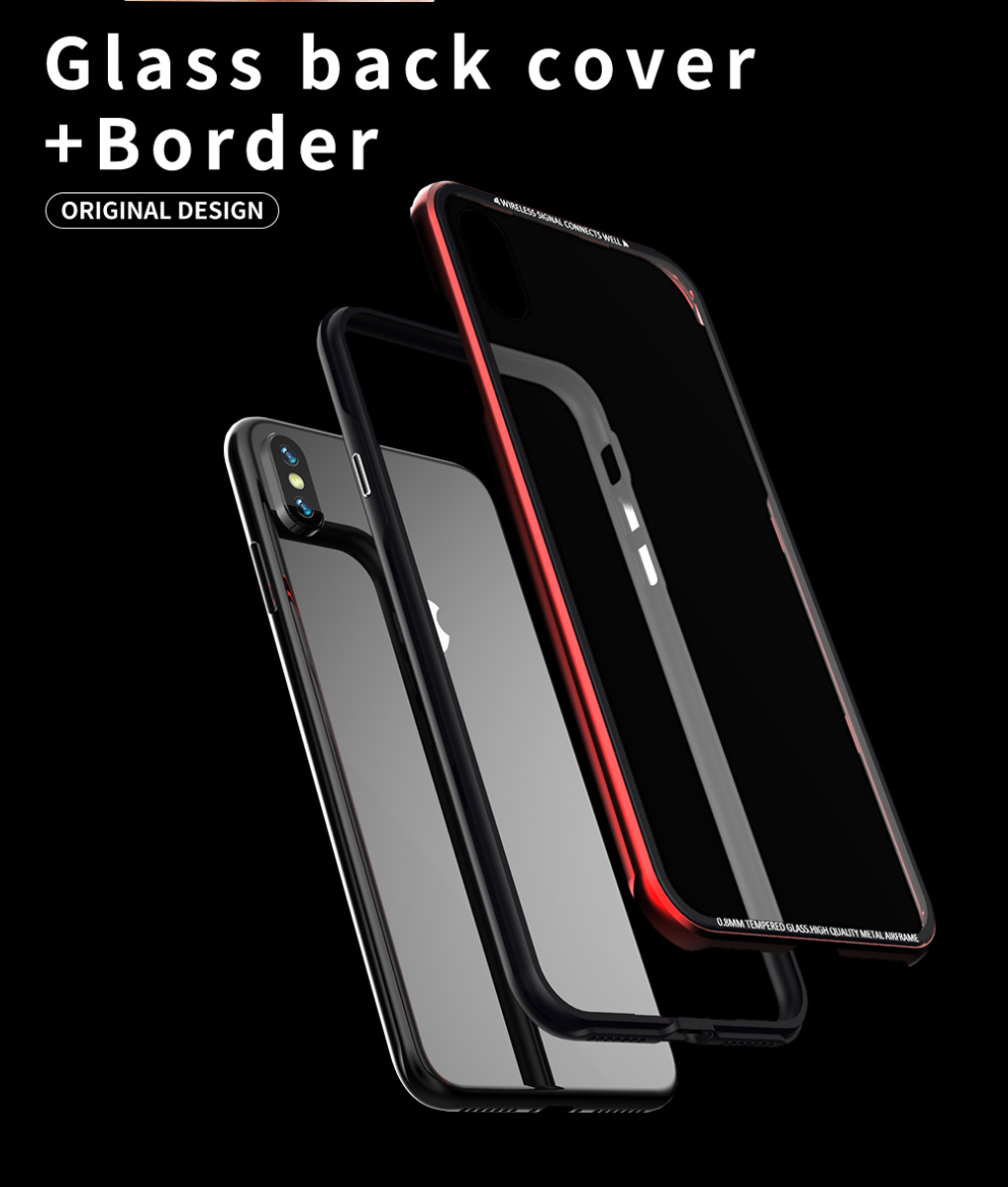 iPhone XS Max メタルケース