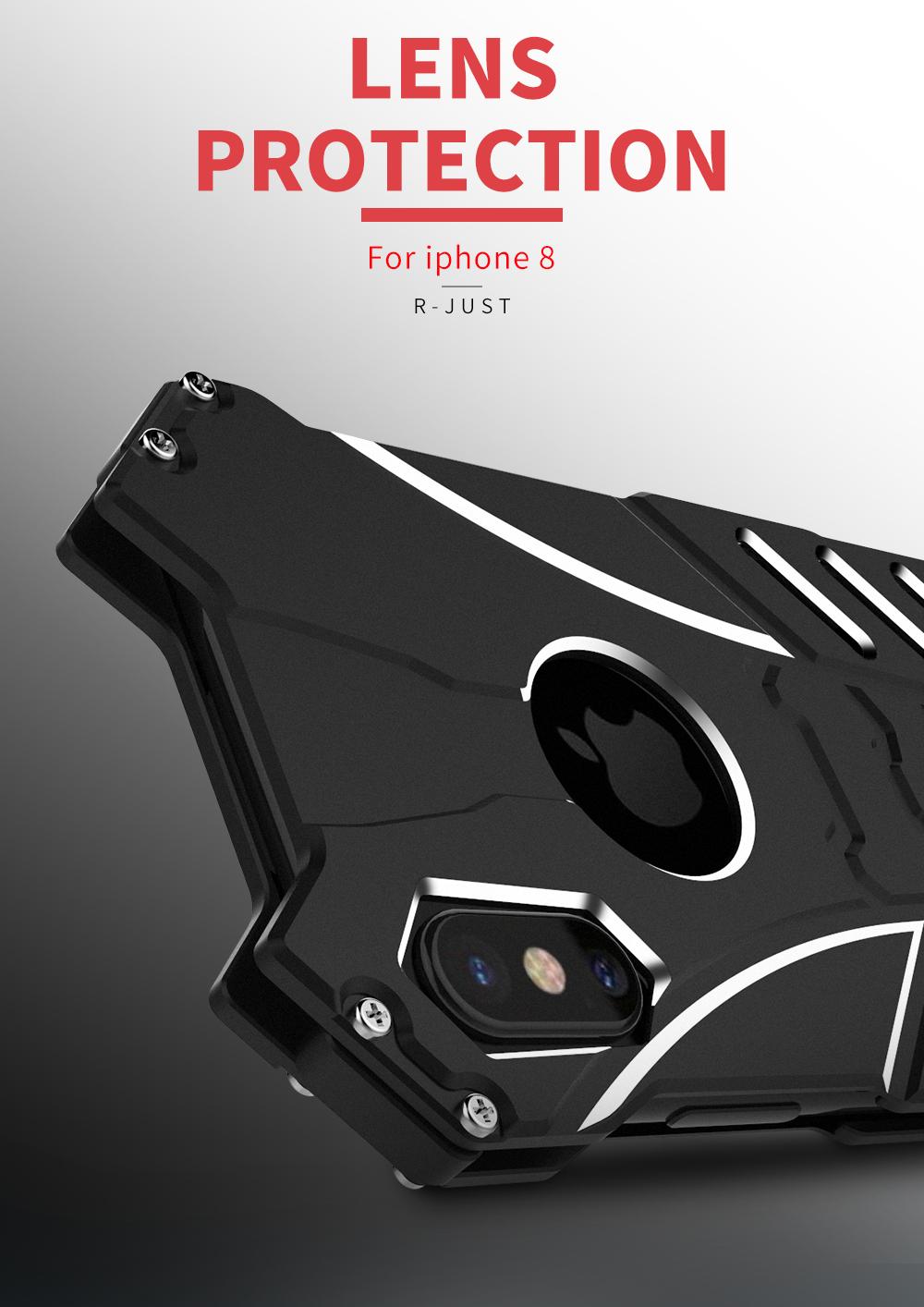 iPhone X 金属のケース