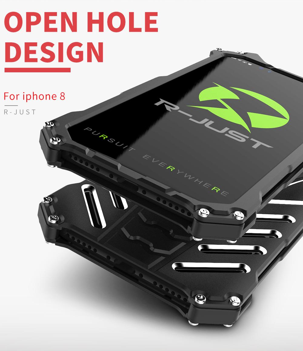 iPhone X ミリタリー メタル