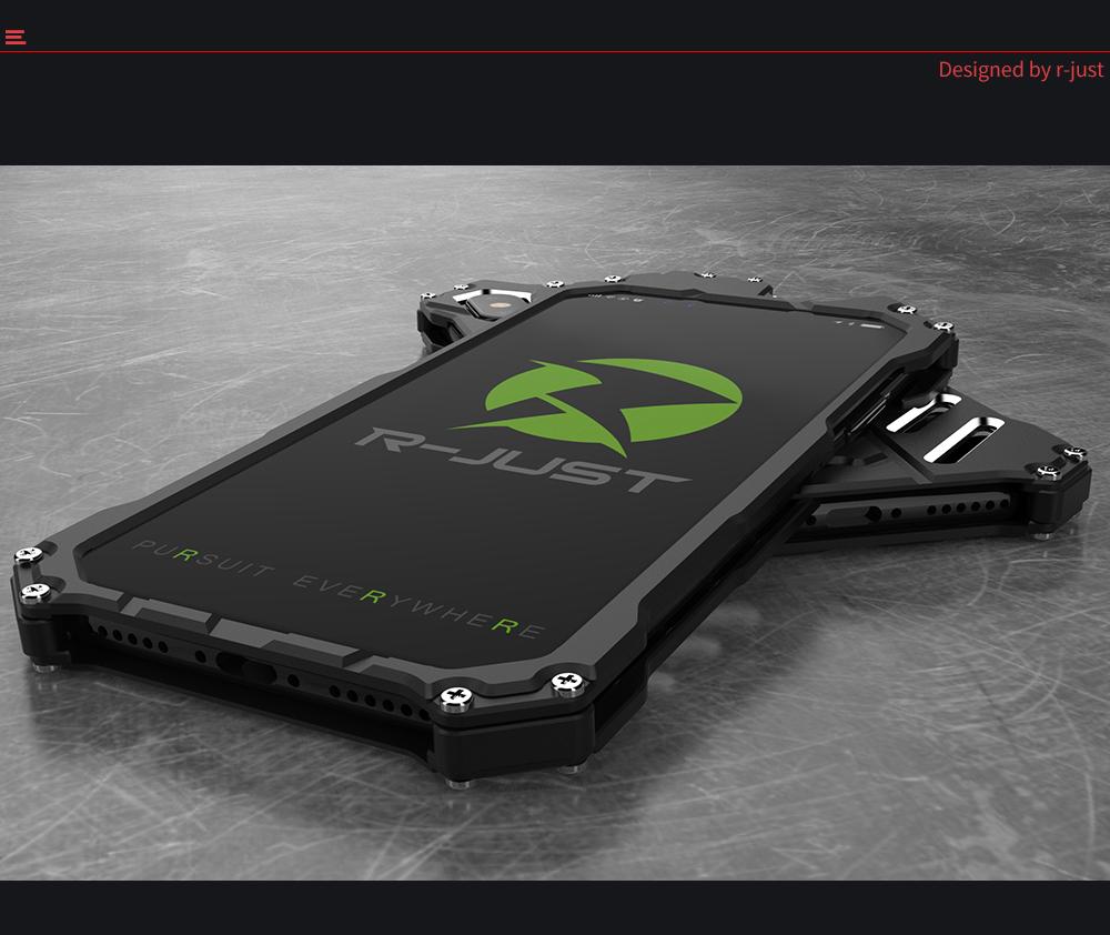 iPhone Xs メタルサイドバンパー