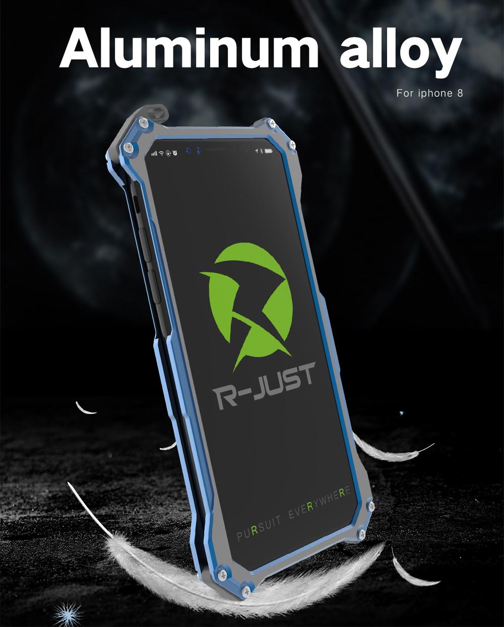 iPhone X アルミバンパー