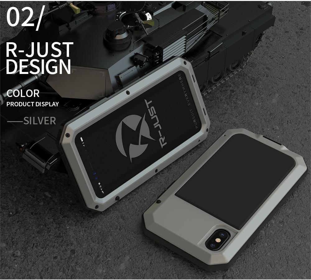 iPhone X 迷彩 耐衝撃
