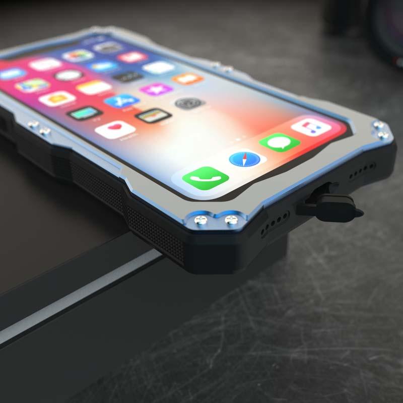 iPhone X 防塵ケース