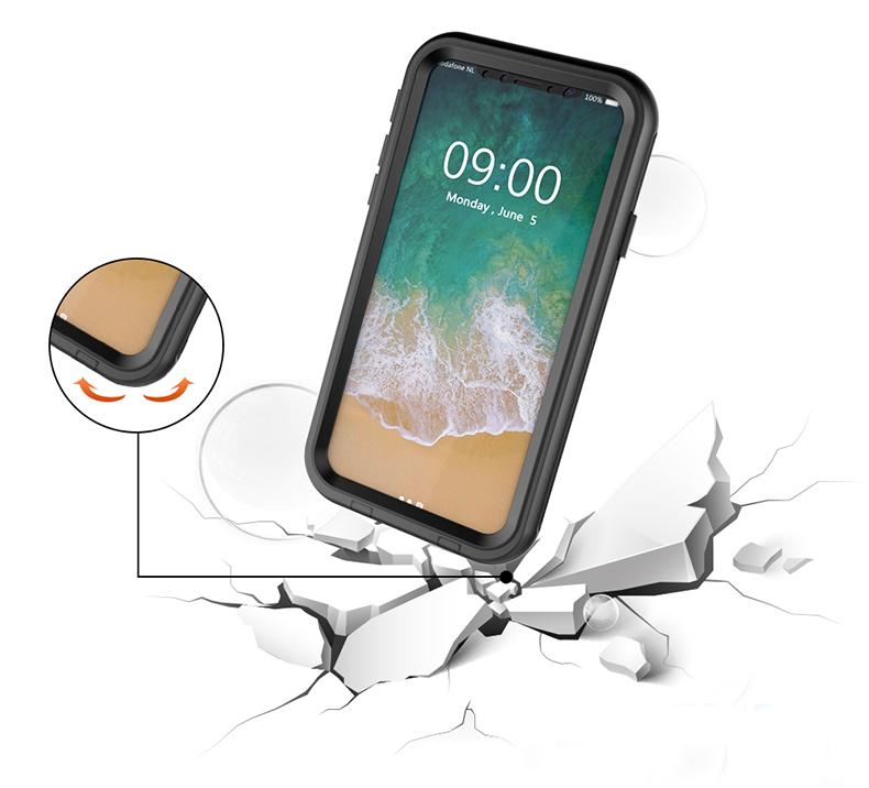 iPhone X 耐衝撃 防水
