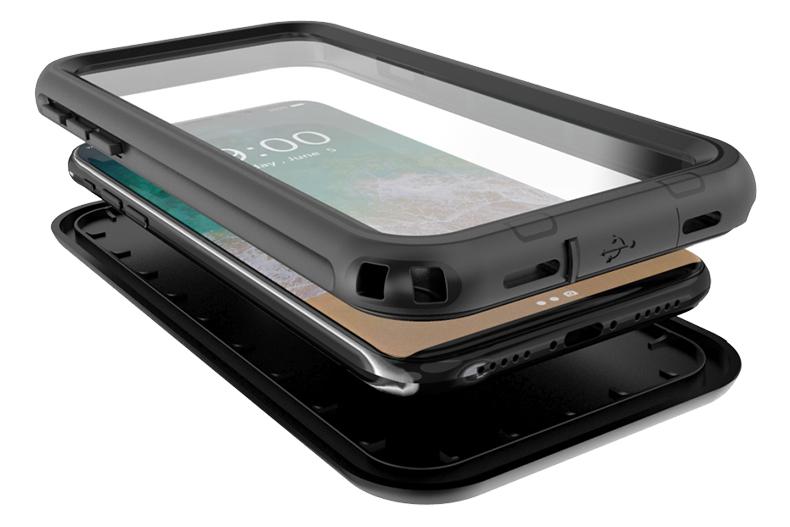 iPhone X 防水 防塵 ケース