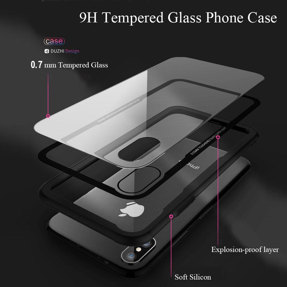 iPhone XR アルミバンパー 強化ガラス