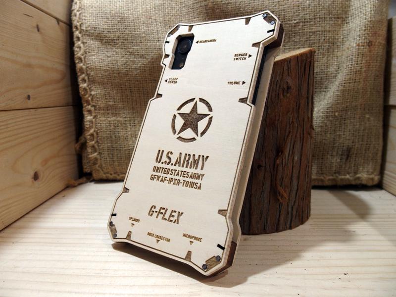 iPhone Xs USアーミー