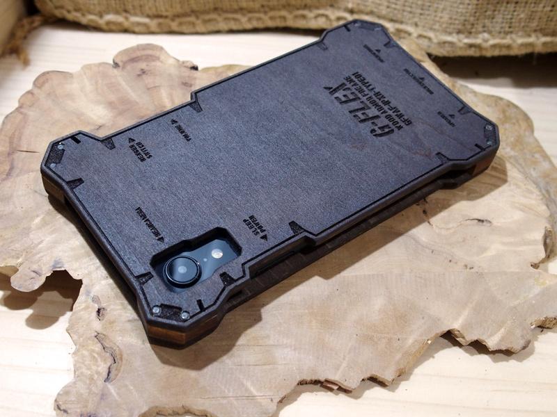 アイフォン XR ウッドケース