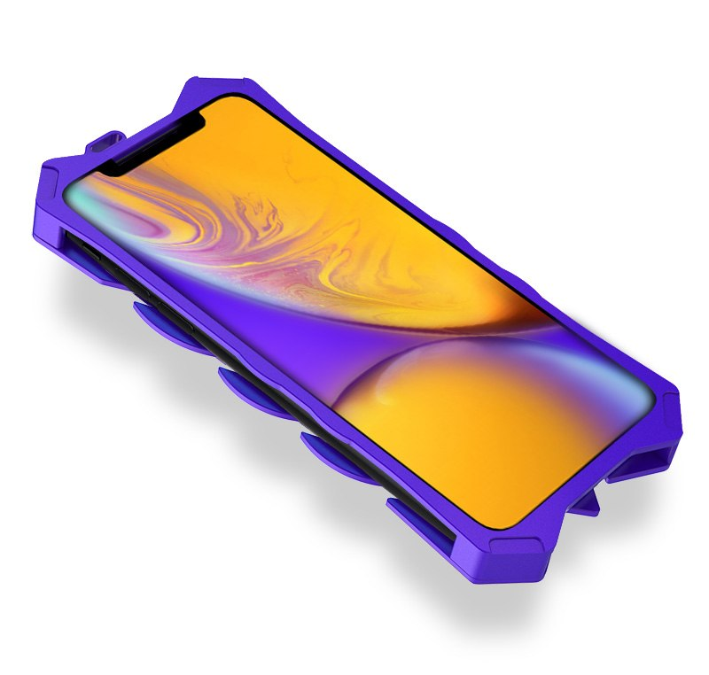 iPhone XR かっこいい メタルケース
