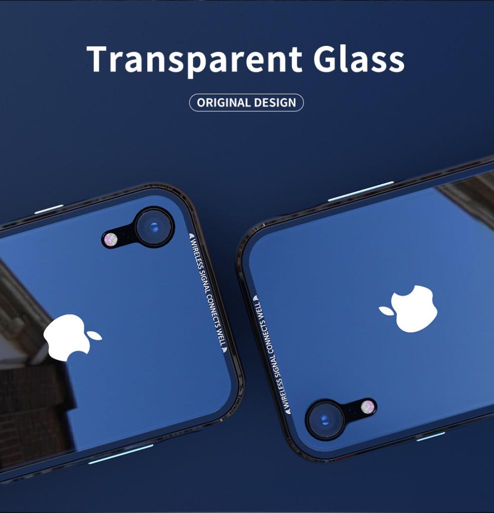 iPhone XR アルミバンパー