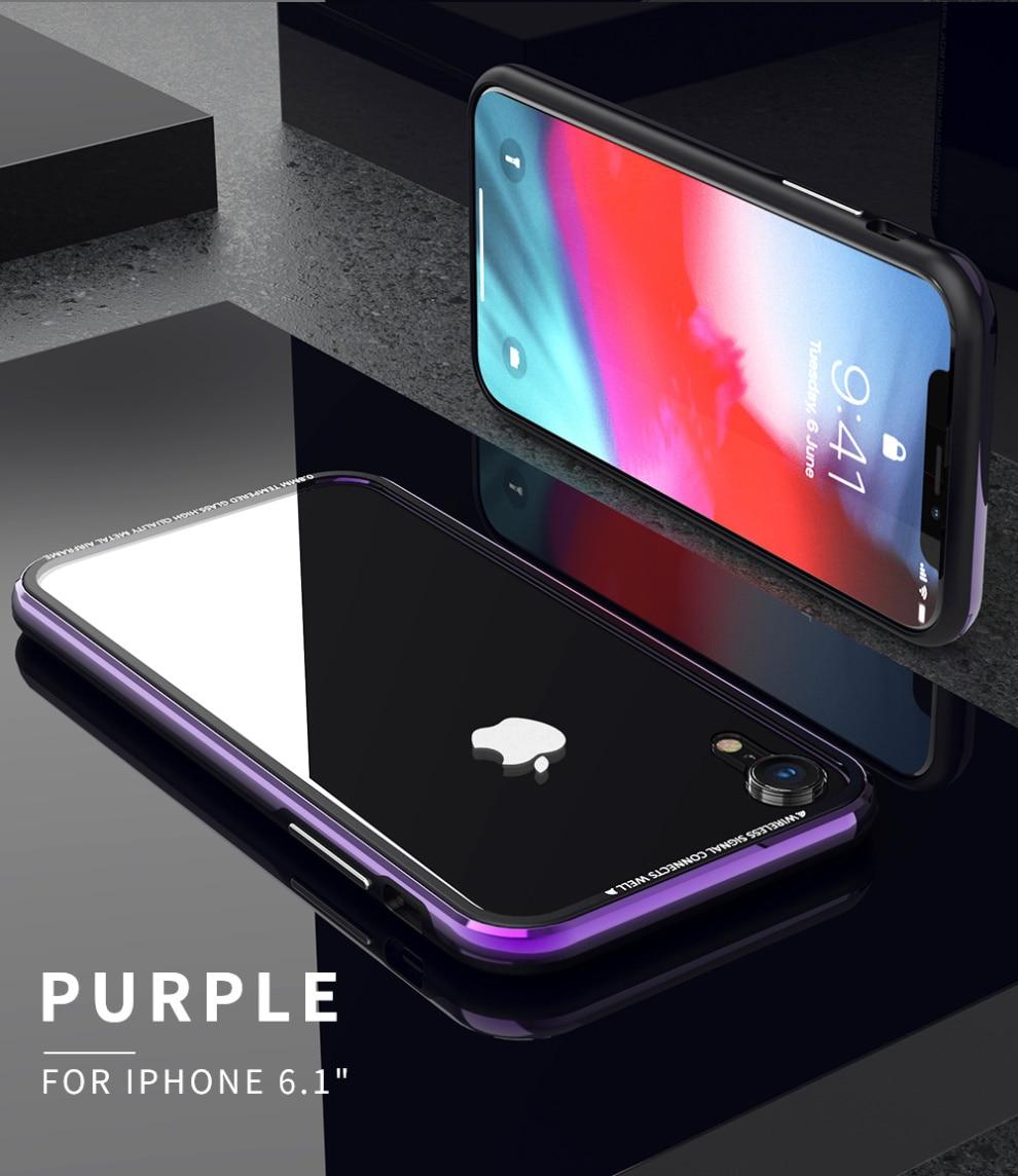iPhone XR クリアケース