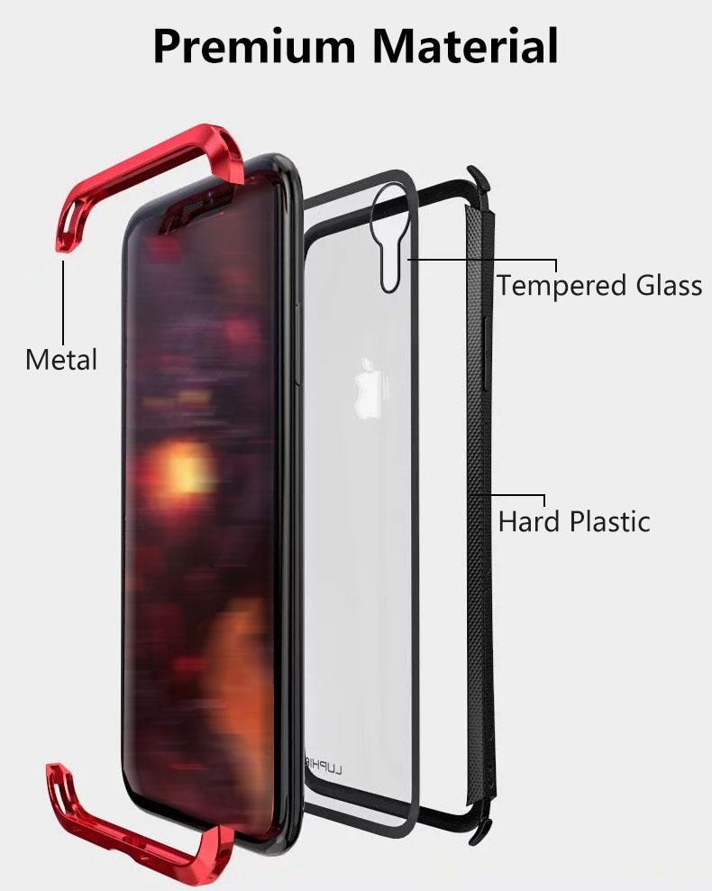 iPhone XR 金属ケース