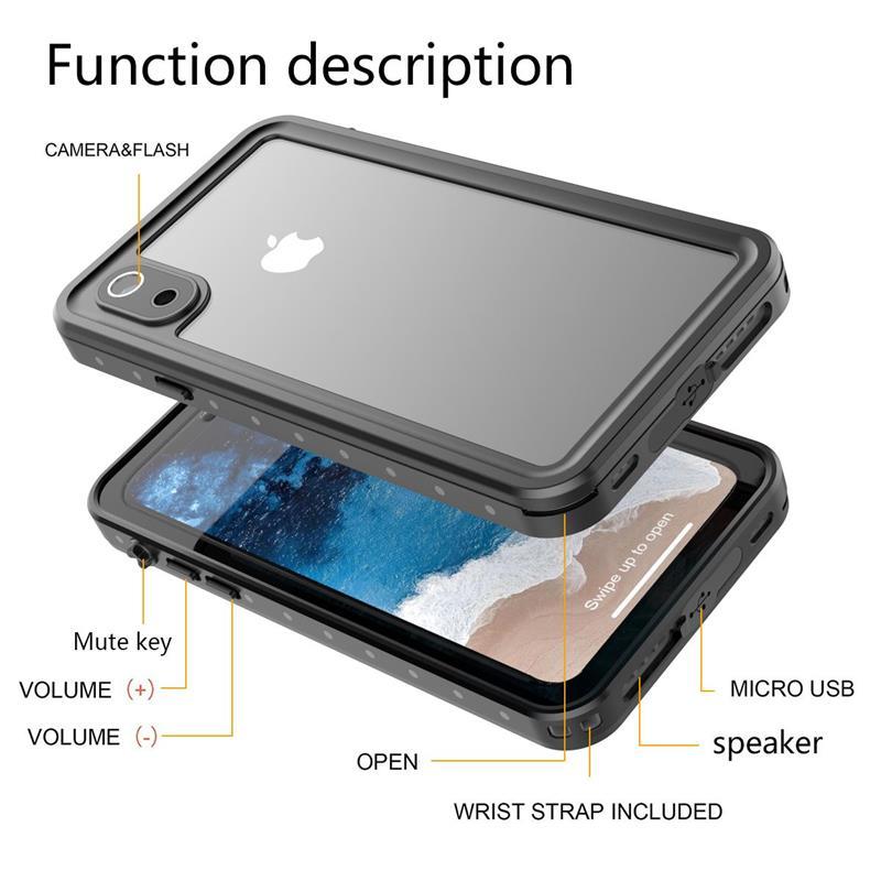 iPhone XR 防水 防塵 ケース