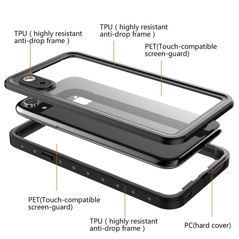 iPhone XR タフケース ミリタリー