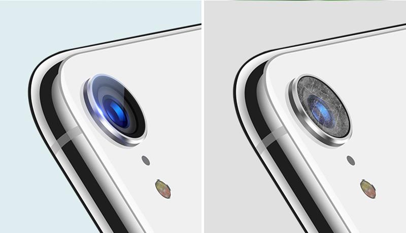 アイフォン XR カメラレンズ 強化ガラス