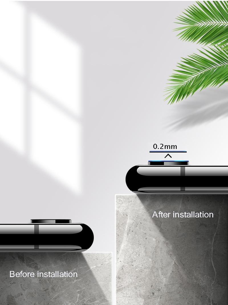 iPhone XR カメラレンズプロテクター