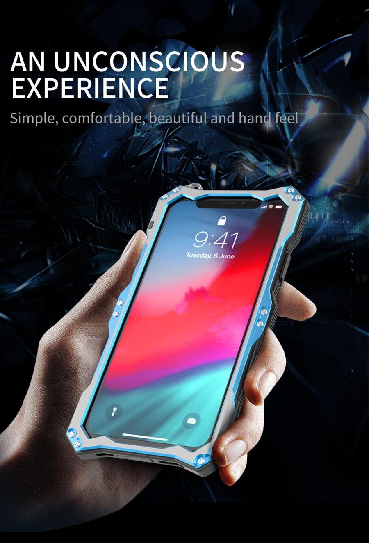 iPhone XR 強化ガラス付き
