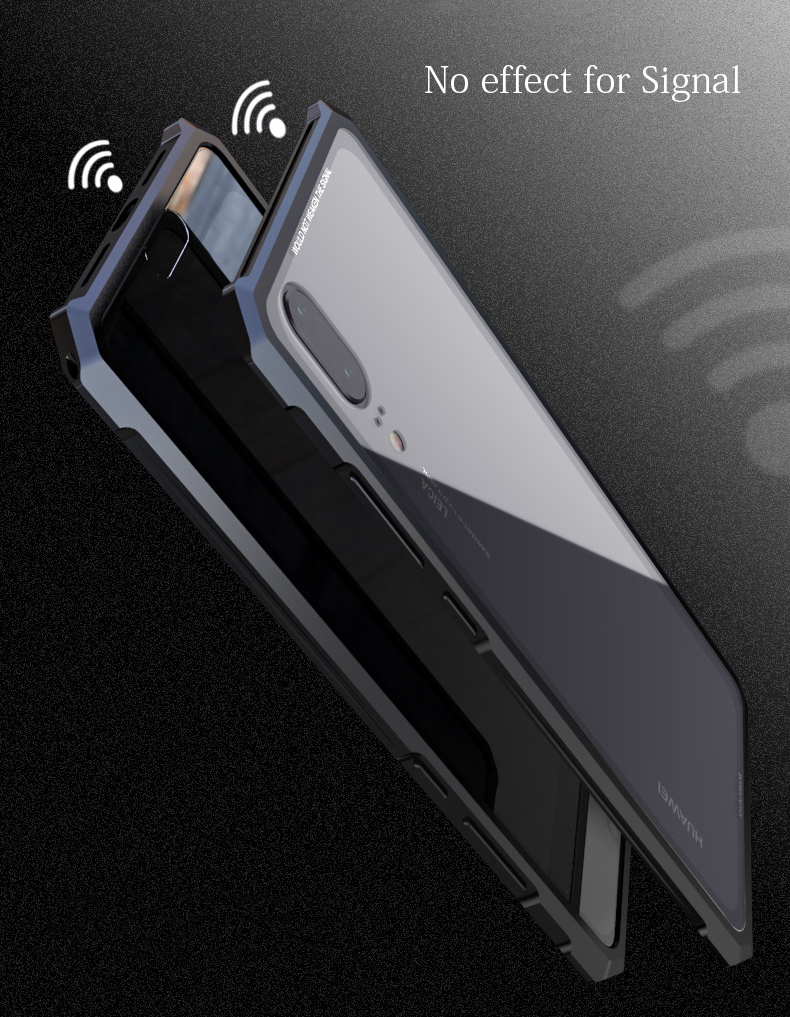 Huawei P20 lite 強化ガラス 背面カバー