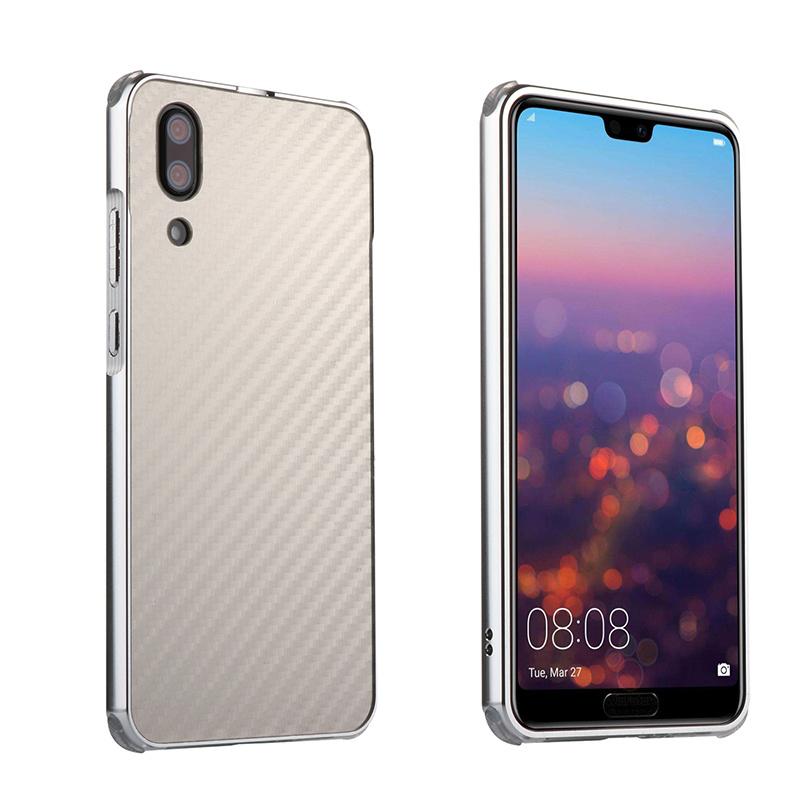 Huawei P20 lite アルミ カーボン