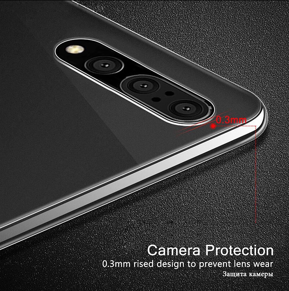 Huawei P20 lite 耐衝撃 クリアケース