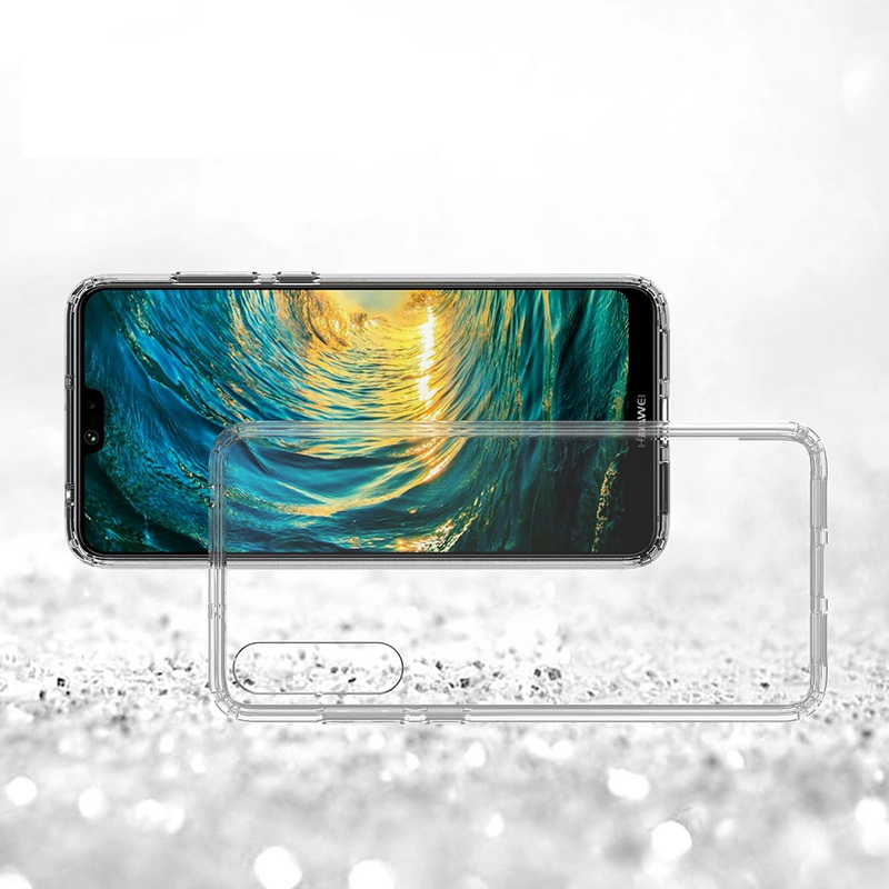 Huawei P20 pro 耐衝撃 クリアケース