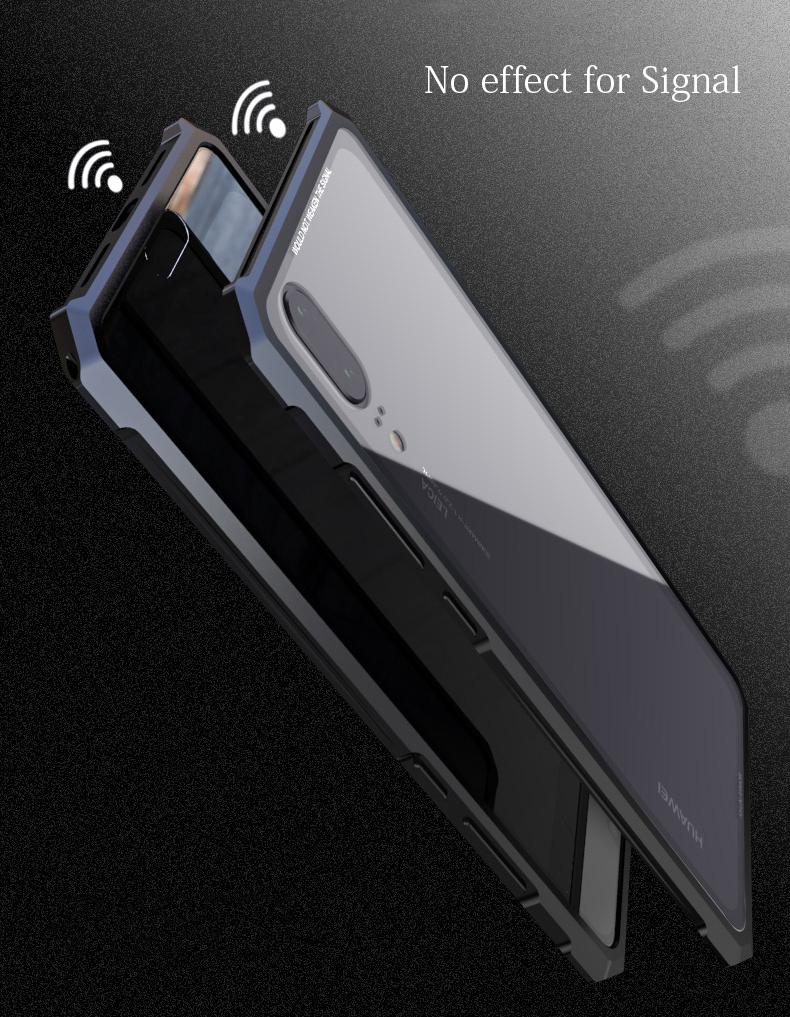 Huawei P20 PRO 強化ガラス 背面カバー