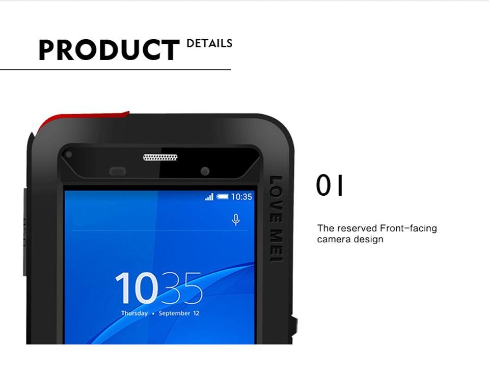Xperia Z3 メタルフルカバー