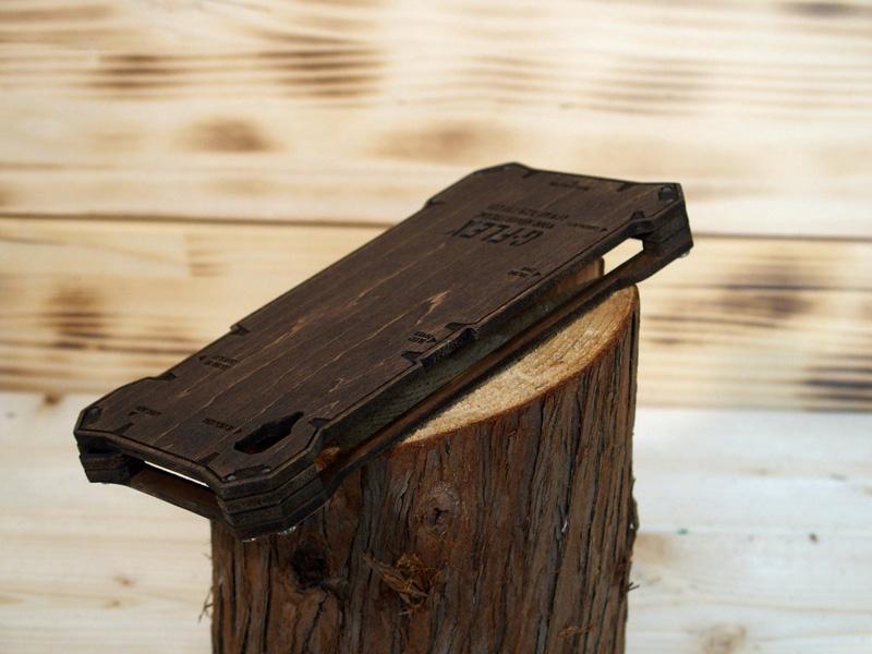 Xperia Z5 木のケース