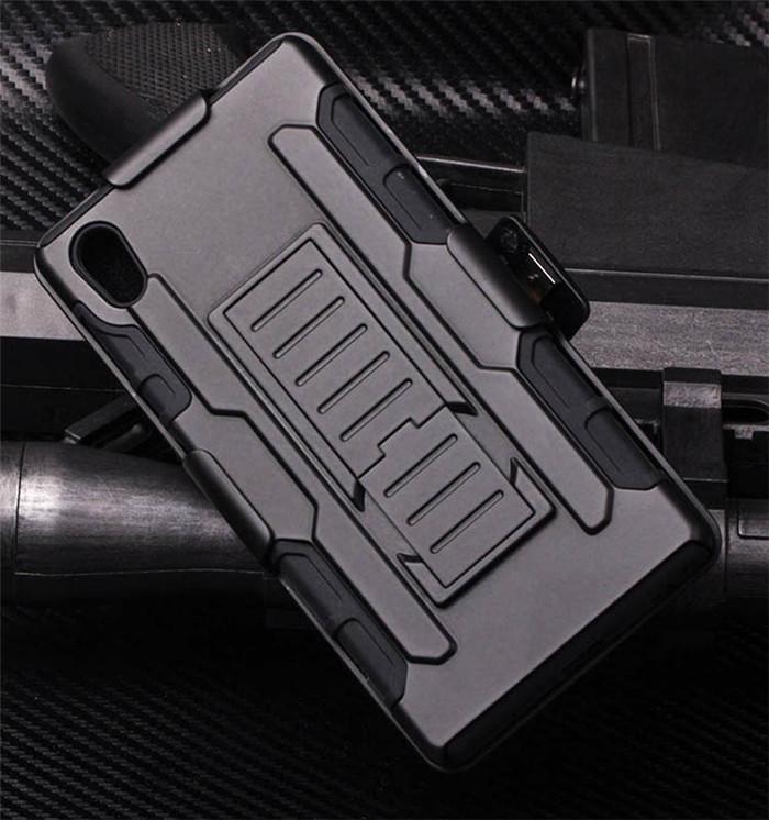 Xperia Z5 タフケース ベルトクリップ
