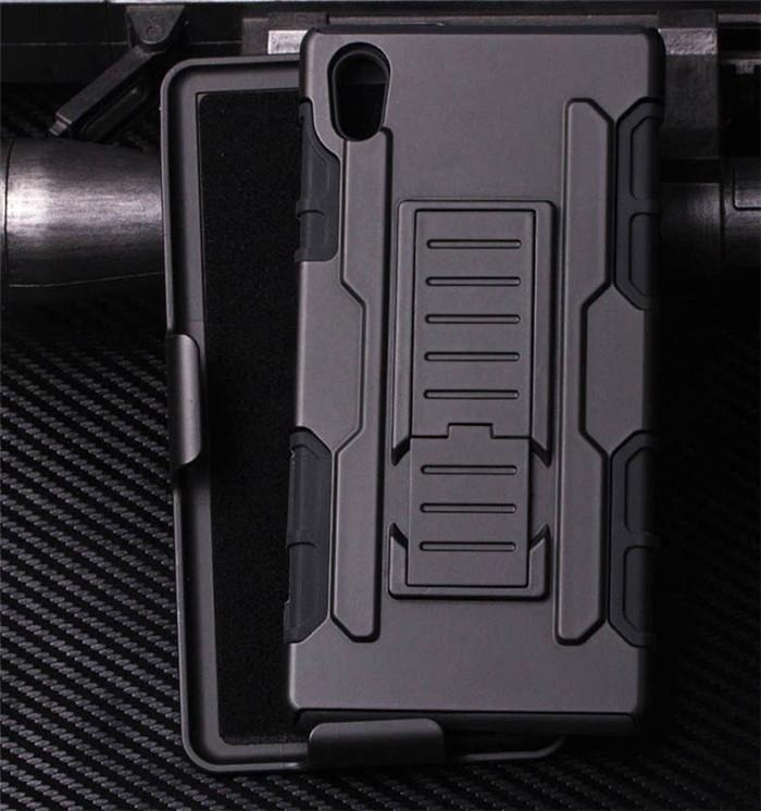 Xperia Z5 耐衝撃ケース ホルスター