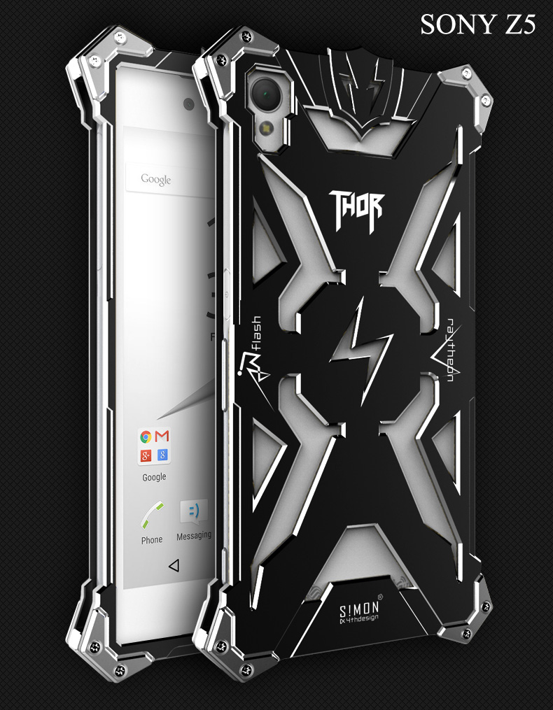 Xperia Z5 プレミアム メタルフルカバー